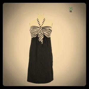 Final Price!! Black &White Olian Maternity Dress