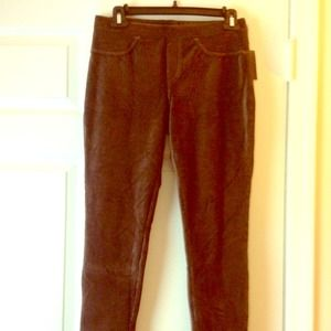 Brown Corduroy stretch pants