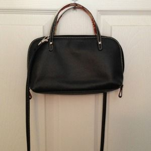 Handbags - Konnichiwa! Black leather purse!