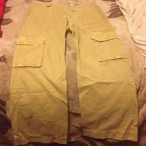 Old Navy Pants - Old Navy Khaki Rugged Cargo Pants