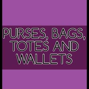 Handbags - PURSES,WALLETS AND WRISTLETS