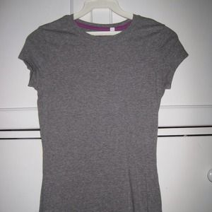 Tops - Heather Grey Shirt