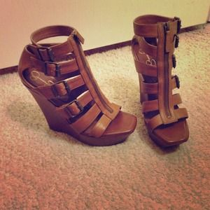 Jessica Simpson Shoes - ✨HOST PICK!✨JessicaSimpson gladiator wedge sandals