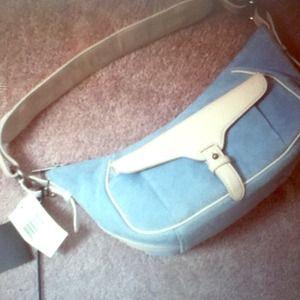 Ralph Lauren baby blue purse