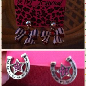 Bundledearrings by Betsey Johnson