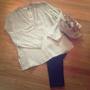 Chico's Tops - NEW Linen Tunic