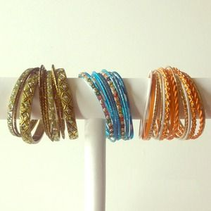 World Market Jewelry - 3 Sets of Bangles