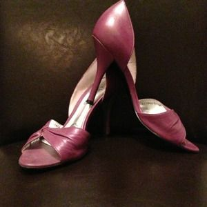 cathy jean Shoes - d'orsay peep toe pumps