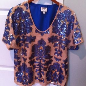 Neiman Marcus Tracy Reese for Target sequin top