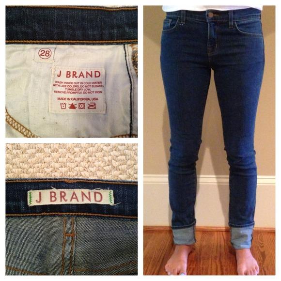 56% off J Brand Pants - J Brand size 28 skinny jeans from Sylvia's ...