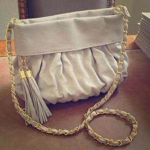 """City Chic"" host pick!  Quilted chain bag"