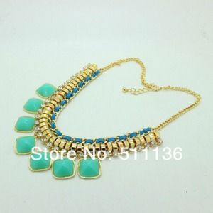 Mint  necklaces