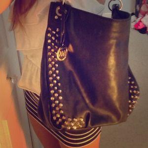 Handbags - RESERVED Black leather bag