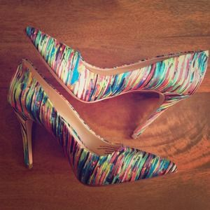 Prabal Gurung for Target multi-colored pumps