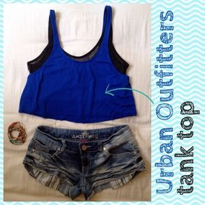 Urban outfitters*Crop tank top