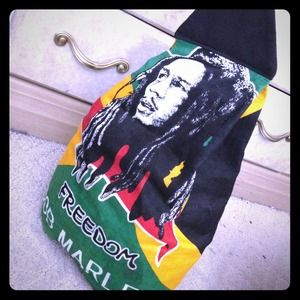 Bob Marley Freedom over the shoulder bag