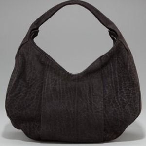 HOST PICK Alexander Wang black suede hobo NWT