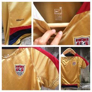Nike US soccer jersey.