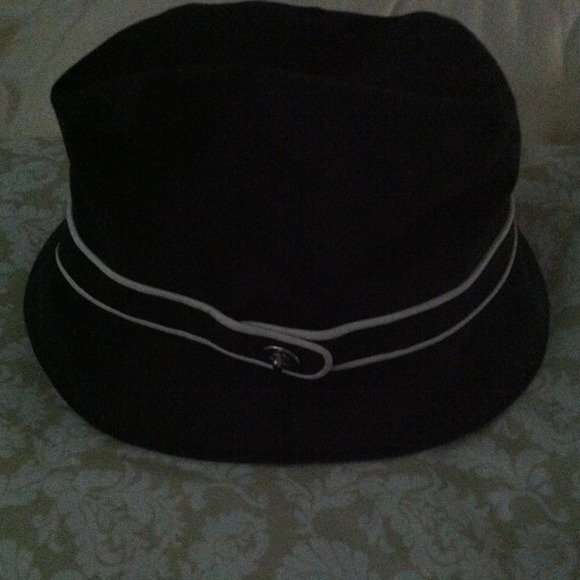 Coach Accessories - Coach Navy Blue Rain hat size M L d29e8e09ab0