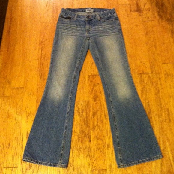 American Eagle Outfitters - American Eagle Hipster Flare Jeans ...
