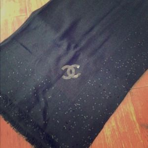 CHANEL Accessories - SOLD! 100% Authentic CHANEL stole/scarf