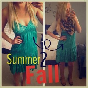 Dresses & Skirts - Host Pick Green summer dress
