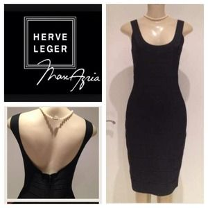 Herve Leger Dresses & Skirts - Herve Leger Classic Black dress