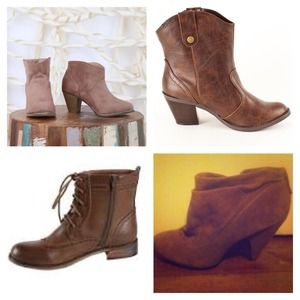 WISHLIST: Brown booties!
