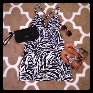 ❌Bundled❌ Zebra Print Xhilaration Dress