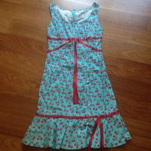 Dresses & Skirts - Cherry Pin Up Dress!!!