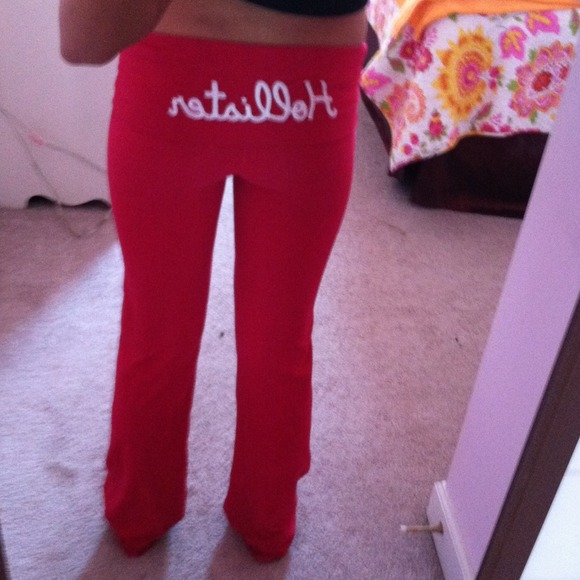 Pink Hollister Yoga Pants! From