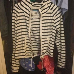 Stripped American eagle sweater