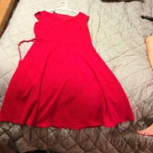 Cynthia Howie Dresses & Skirts - 60's like red dress