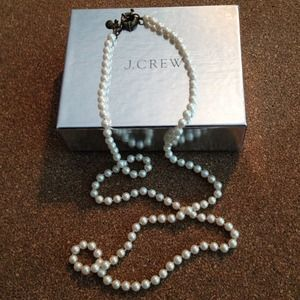 J Crew Necklace and Mirror Bundle