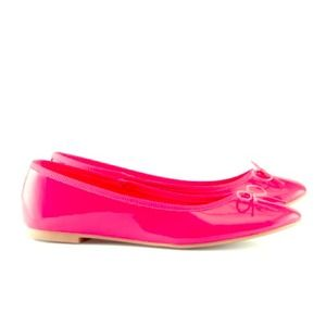 H&M Shoes - **Host pick** Neon pink flats (brand new)
