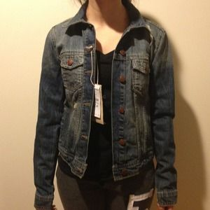 Zara denim jacket size S