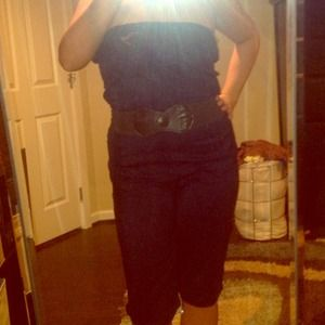 NA Other - Navy blue jump suit