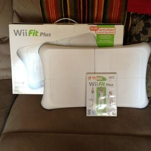 Other - Wii fit plus! Like new. Used once