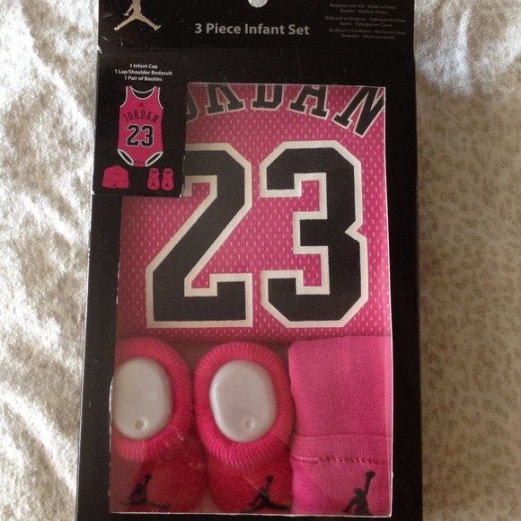 4d4c8e4bdf2 Jordan One Pieces | Baby Girl Onesie What And Booties | Poshmark
