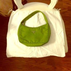 Small Prada purse with dust bag