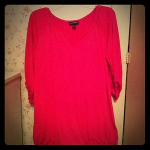 Tops - Midsleeve Pink Dress Top...