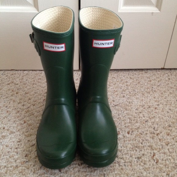 6c58ceaad Hunter Shoes | Sold New Original Short Rain Boots Sz 38 | Poshmark