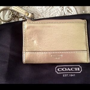 Coach Clutches & Wallets - 100 % Authentic Coach Wallet/Keychain