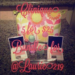 ❤Clinique 5 for $25 bundle for @Laurie219❤