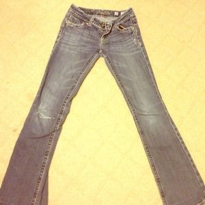 Miss me jeans size 28 in! Lightly worn!