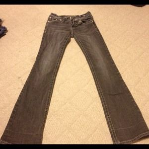 Size 28 miss me jeans!