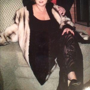 Jackets & Blazers - Fitch/Mink genuine fur coat from Macy's fur salon