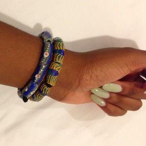 Jewelry - AUTHENTIC African Beaded Bracelet