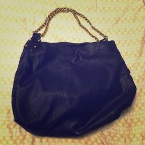 Authentic Black and gold Stella McCartney bag