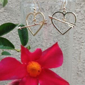 Cupid's Heart Earrings